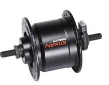 Přední náboj s dynamem Shimano NEXUS DH-C3000-3N-NT - bez matek  příslušenství