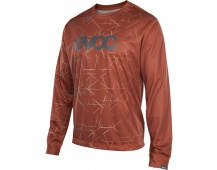 EVOC dres LONG SLEEVE JERSEY chilli red