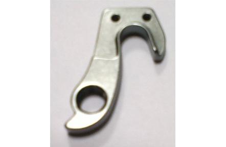 R.Dropout RE171A bracket Al JY022 ano.grey w/2-M3x0.5x8