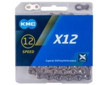 ŘETĚZ KMC X-12 STŘÍBRNÝ BOX