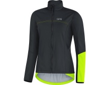 GORE C5 Women WS Thermo Jacket-black/neon yellow-36