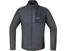 GORE C5 WS Thermo Trail Jacket-terra grey/black-M