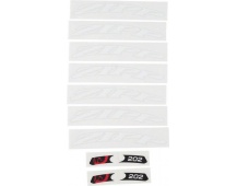 11.1918.030.000 - ZIPP DECAL SET 1 WHEEL 202 ZIPPLOGO MATTEWHT