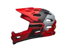 BELL Super 3R MIPS Mat Crimson/Black