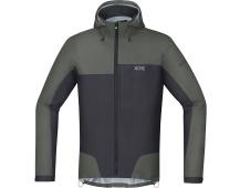 GORE C5 GTX Active Trail Hooded Jacket-castor grey/terra grey