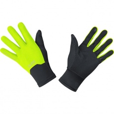 GORE M WS Gloves-black/neon yellow