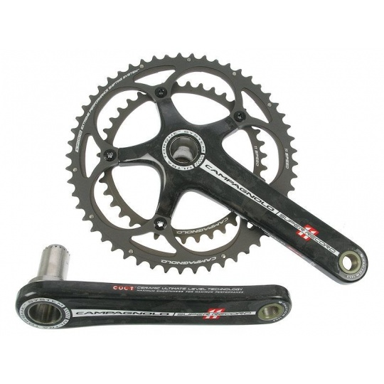 Kliky silniční Campagnolo Super Record Carbon ULTRA- TORQUE 11Speed  170mm 53x39