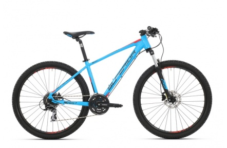 SUPERIOR XC 857 matte cyan blue/black/team red 2017