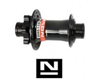 Náboj Novatec DH61SB, přední, 32děr, černý, (N-logo)