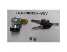 Lock Battery Lock for Integrated Frame type wo/Rim Lock w/2pc blk Giant keys w/Bolt