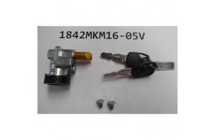 Lock Battery Lock for Integrated Frame type wo/Rim Lock w/2pc blk Giant keys w/Bolt