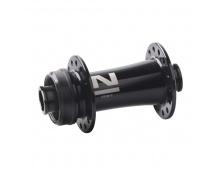 Náboj Novatec D791SB-CL-12, přední, 24-děrový, černý (N-logo)