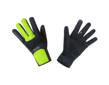 GORE M WS Thermo Gloves-black/neon yellow