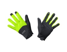 GORE C5 WS Gloves-black/neon yellow