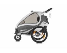 QERIDOO KidGoo 1 vozík - anthracit