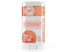 SPORTIQUE DEOGUARD přírodní tuhý deodorant - pivoňka a květ bavlny 65g