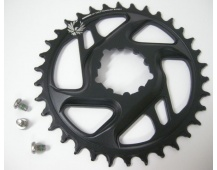 11.6218.030.290 - SRAM CR X-SYNC EAGLE CF 34T DM 6 OFF BLK