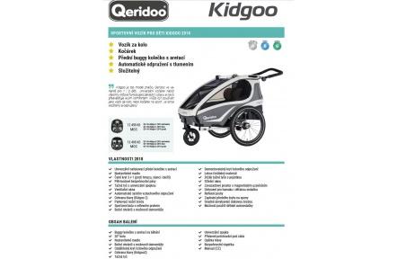 QERIDOO KidGoo 1 2018 vozík zelený