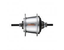 SHIMANO nába NEXUS SG-C3001-7 7 rychl protišlapná brzda 36 děr 127x175,5 mm stříbrná nebal