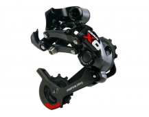 Přehazovačka MTB Sram X.0 Type 2,10kol, střední vodítko, barva černo-červená