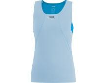 GORE R3 Women Sleeveless Shirt-ciel blue/dynamic cyan
