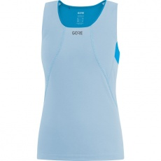 GORE R3 Women Sleeveless Shirt-ciel blue/dynamic cyan