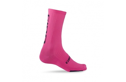 GIRO ponožky HRC Team-bright pink/black