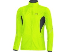 GORE R3 Women Partial WS Jacket-neon yellow