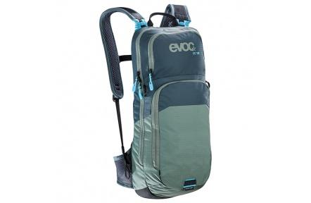 EVOC batoh CC 10l - slate-olive + bladder 2l