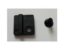 Grips Direct Mount Cap matt blk JY001C w/al 7075 JY 001CM 6x1 bolt