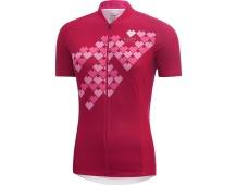 GORE Element Lady Digi Heart Jersey-jazzy pink