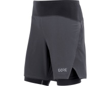 GORE R7 2in1 Shorts-black
