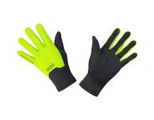 GORE M GTX Infinium Gloves-black/neon yellow