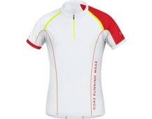 GORE X-Run Ultra Shirt-white/red