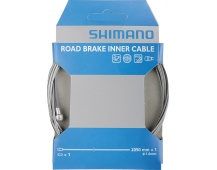 SHIMANO brzdové lanko s povlakem SIL-TEC 1,6x2050 mm nerez ocel + koncovky