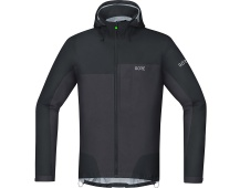 GORE C5 GTX Active Trail Hooded Jacket-black/terra grey