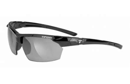Tifosi Jet-Gloss Black/single lens/Smoke GG