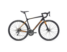GIANT Contend SL 2 Disc 2019 gun metal black/neon orange