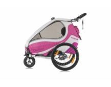 QERIDOO KidGoo 2 vozík - pink