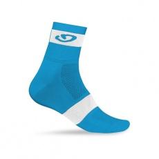 GIRO ponožky Comp Racer-blue jewel/white