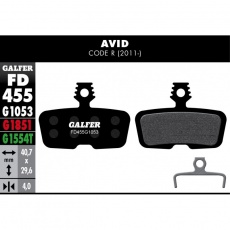GALFER destičky AVID/SRAM FD455 advanced
