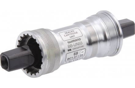 SHIMANO středové složení LX BB-UN55 osa 4hran 68 mm 118 mm BSA