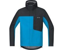 GORE C3 GTX Paclite Hooded Jacket-dynamic cyan/black