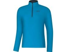 GORE R3 Long Sleeve Zip Shirt-dynamic cyan-XXL