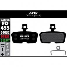 GALFER destičky AVID/SRAM FD455 PRO