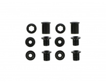11.6915.017.000 - TRUVATIV CHAINRING BOLT KIT 4LONG STL/STL BLACK