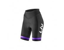 LIV Race Day Shorts-black/purple