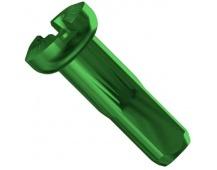 Sapim nipl Alu Polyax 12 mm zelený