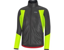 GORE C5 GTX Infinium Soft Lined Thermo Jacket-black/neon yellow