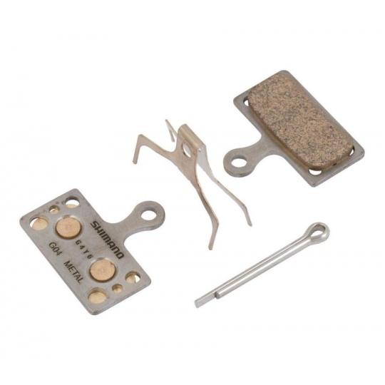 SHIMANO brzdové destičky G04S kovové MTB